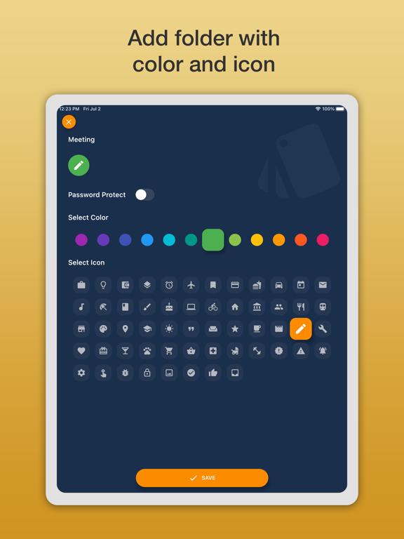 Safety Note+ Pro Screenshots