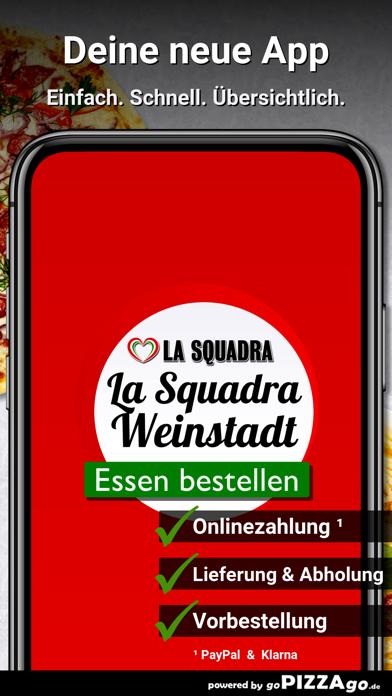Pizzeria La Squadra Weinstadt screenshot 1