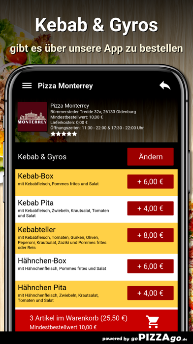Pizza Monterrey Oldenburg screenshot 6