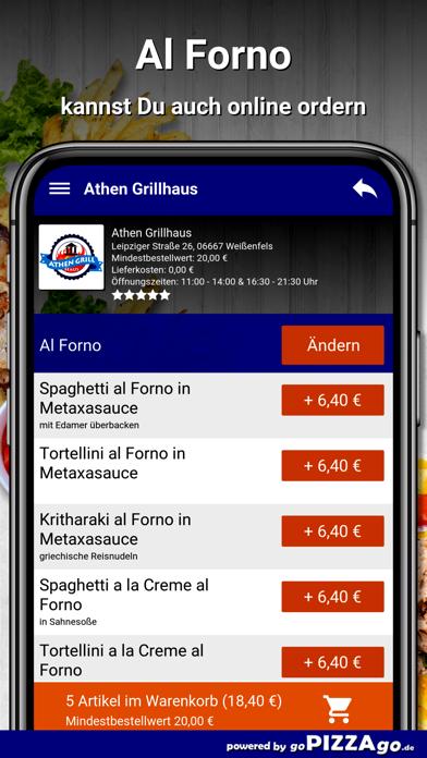 Athen Grillhaus Weißenfels screenshot 5
