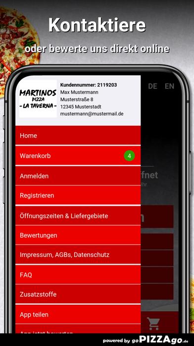 Martinos Pizza Alsfeld screenshot 5