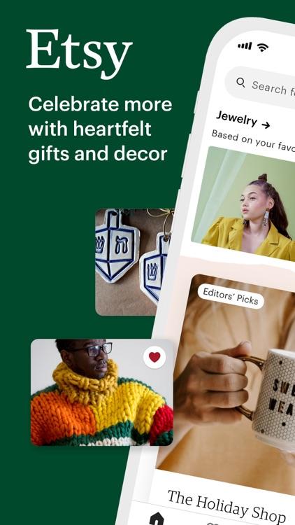 Etsy: Custom & Creative Goods screenshot-0