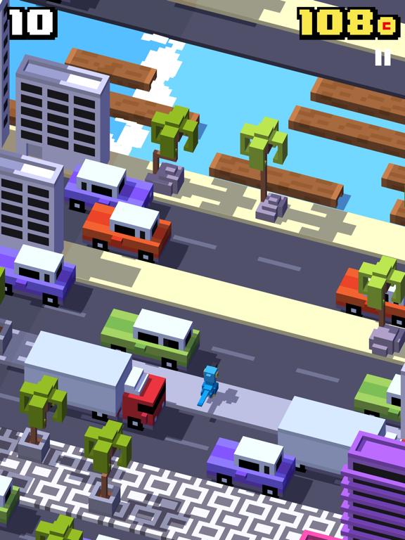 Crossy Road iPad app afbeelding 8