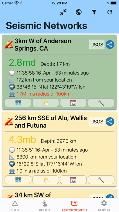 Earthquake Networkのおすすめ画像5