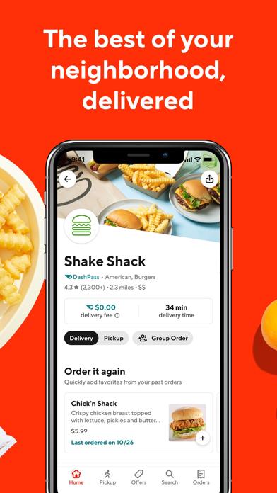 DoorDash - Food Delivery Screenshot on iOS