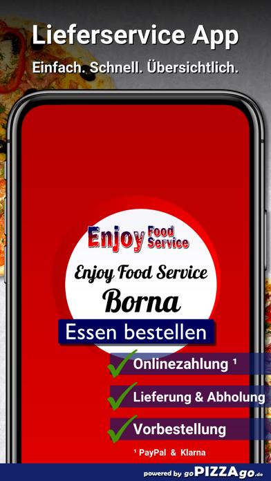 Enjoy Food Service Borna screenshot 1
