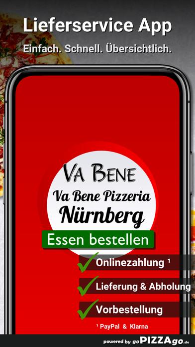 Va Bene Pizzeria Nürnberg screenshot 1
