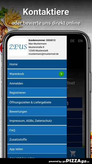 Zeus Lieferservice Norderstedt screenshot 3