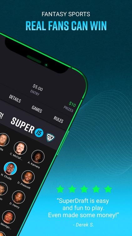 SuperDraft Fantasy Sports App