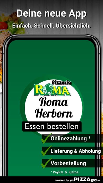 Pizzeria Roma Herborn screenshot 1