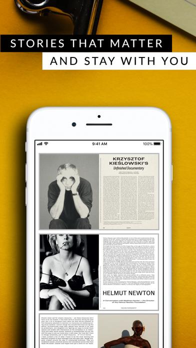 Contemporary Lynx MagazineScreenshot of 2
