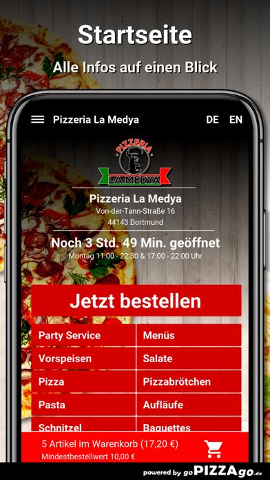 Pizzeria La Medya Dortmund screenshot 2