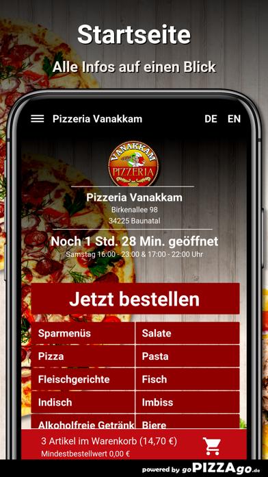 Pizzeria Vanakkam Baunatal screenshot 2