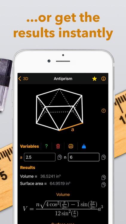 Geometry solver ² - calculator screenshot-6