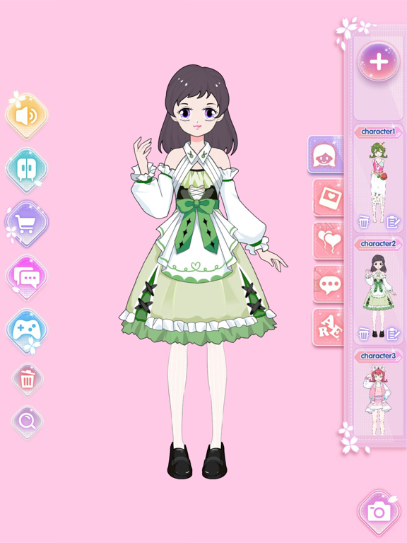 Vlinder Princess:着せ替えファッションゲームのおすすめ画像6