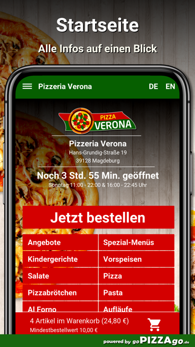 Pizzeria Verona Magdeburg screenshot 2