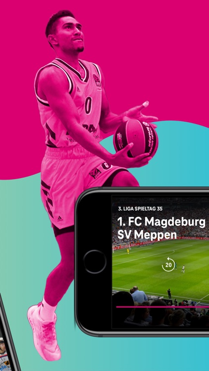 MagentaSport – DEL, BBL live