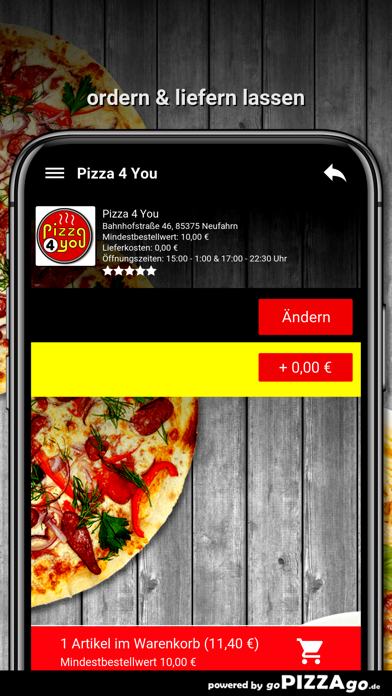 Pizza 4 You Neufahrn screenshot 6