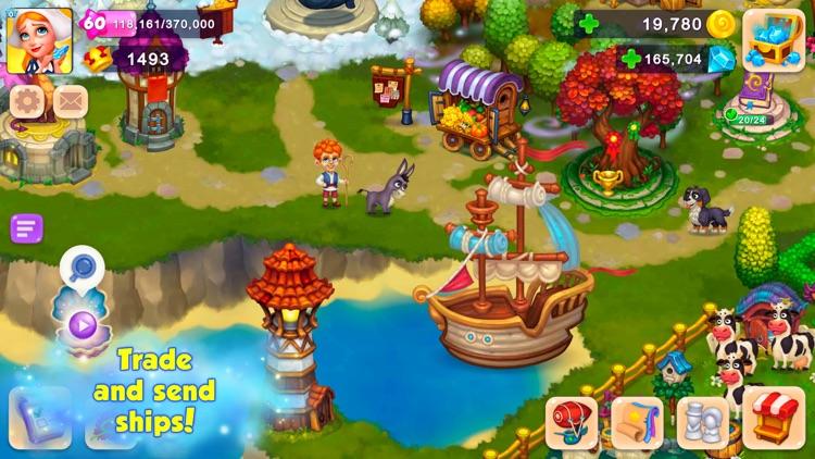 Royal Farm: Fairytale harvest screenshot-4
