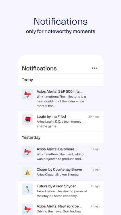 Axios: Smart Brevity news screenshot-4