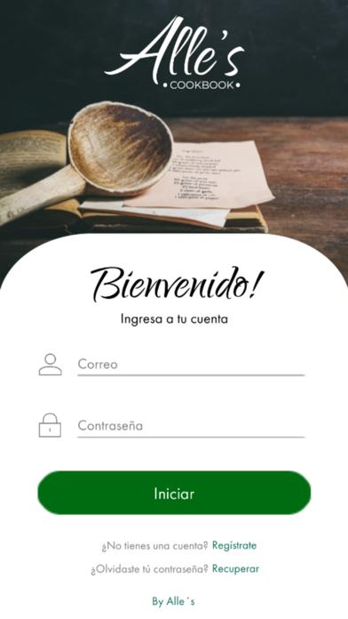 Recetario - Alle's Cookbook screenshot 1