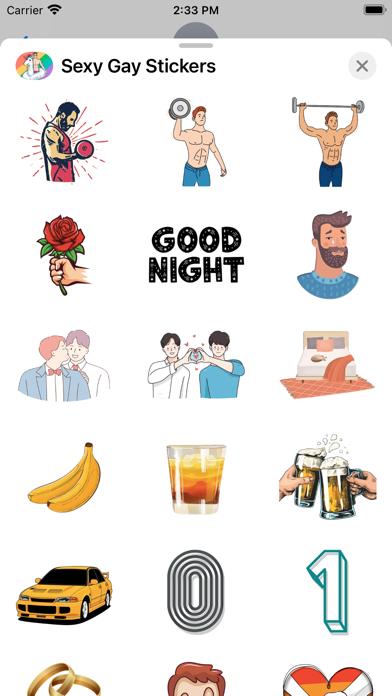 Sexy Gay Stickers screenshot 3