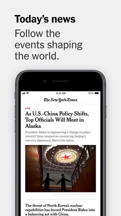 The New York Times screenshot-0