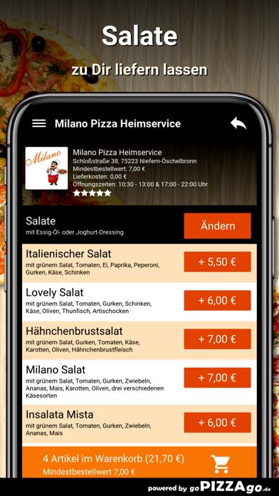 Milano Niefern-Öschelbronn screenshot 5