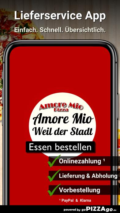 Pizza Amore Mio Weil der Stadt screenshot 1