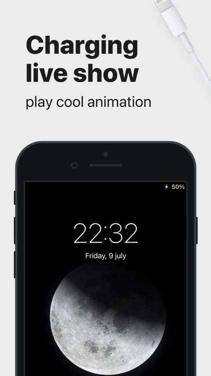 Charging Animation Play: Show