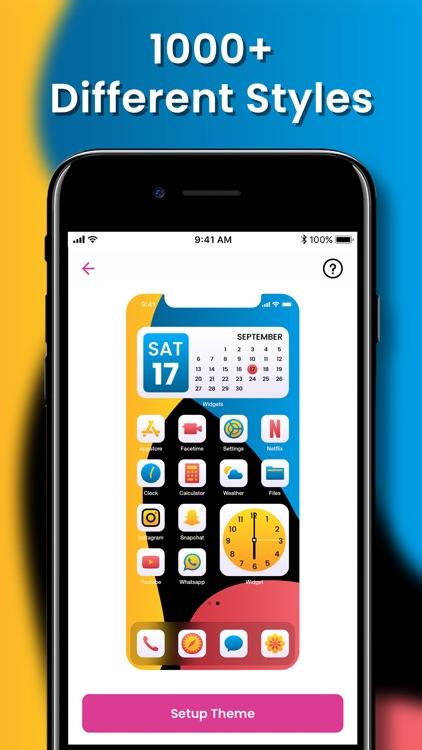 Wallpaper Maker- Icon Changer screenshot-3