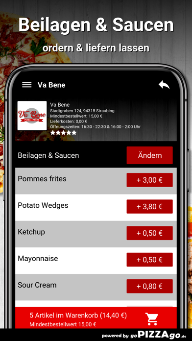 Va-Bene Straubing screenshot 6