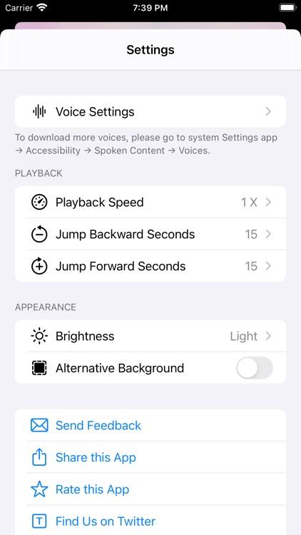 iPlayText: Listen to Any Text screenshot-3