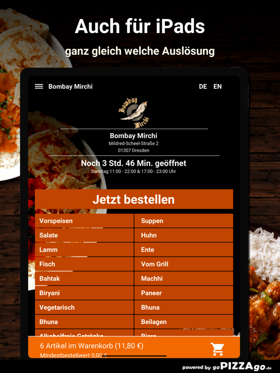 Bombay Mirchi Dresden screenshot 7