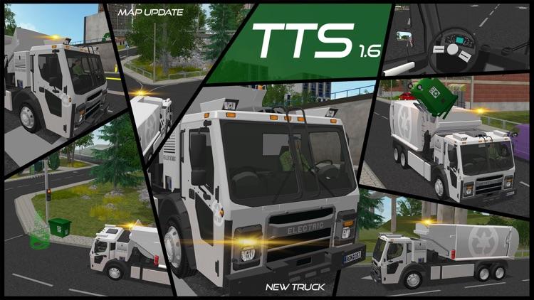 Trash Truck Simulator screenshot-0