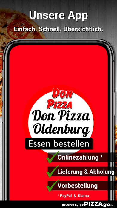 Don Pizza Oldenburg screenshot 1