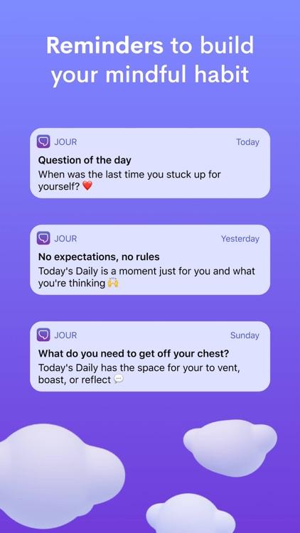 Jour: Daily Self-Care Journal screenshot-9