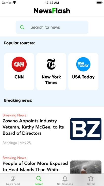 Newsflash Speed Reader screenshot-5