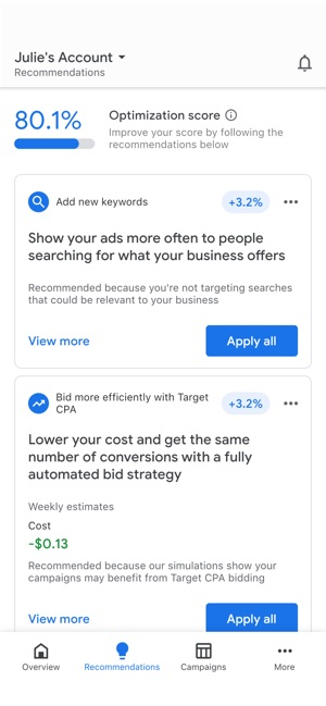 Google Ads On The App Store