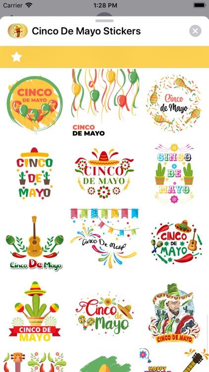 Cinco de Mayo Stickers screenshot-7