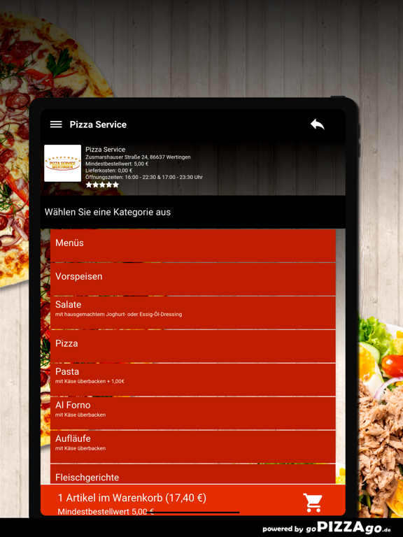 Pizza Service Wertingen screenshot 8