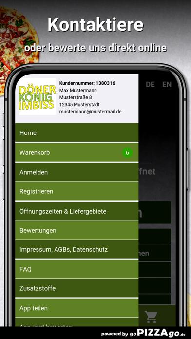Döner & Pizza König Gladbeck screenshot 3