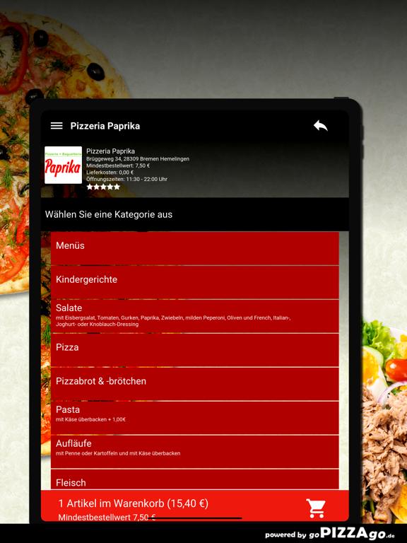 Pizzeria Paprika Bremen Hemeli screenshot 8