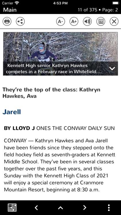 The Conway Daily Sun Replica screenshot-3