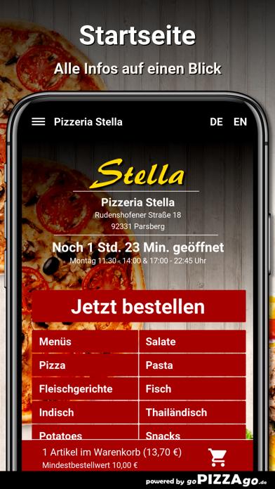 Pizzeria Stella Parsberg screenshot 2