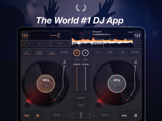 edjing - DJ mixer console studio - Play Mix Record & Share your music! screenshot