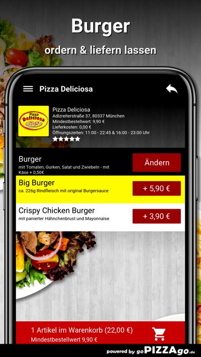 Pizza Deliciosa München screenshot 6