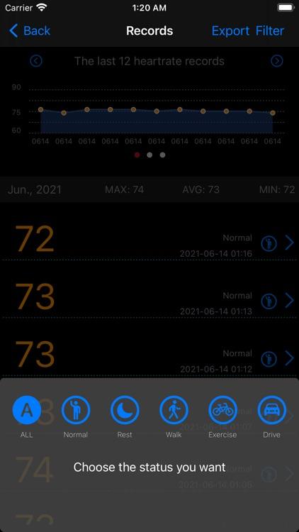 Measure Heart Rate screenshot-5