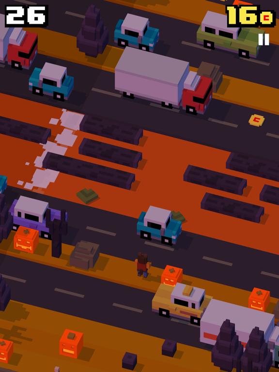 Crossy Road iPad app afbeelding 9