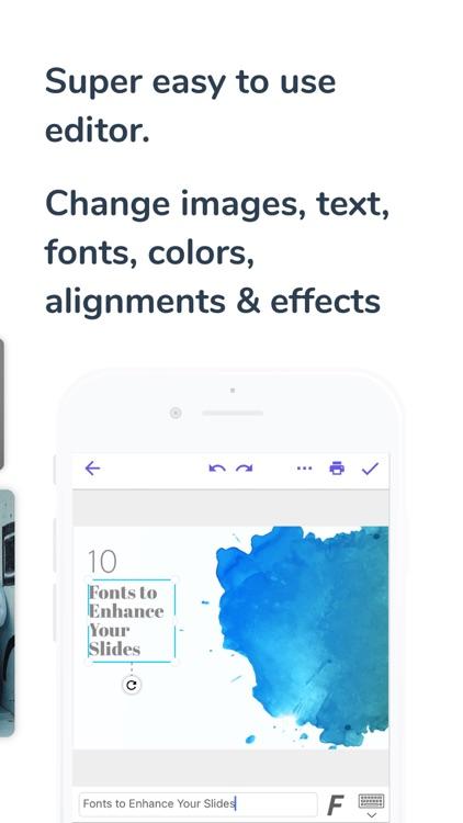 Presentation Creator screenshot-3